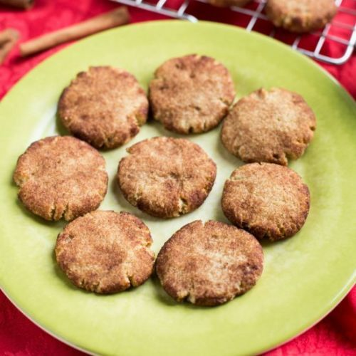 Keto Low Carb Snickerdoodle Cookie