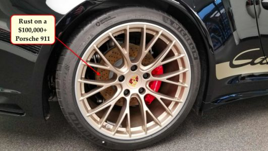 How Much Are You Bothered By Your Car's Rusty Rotors?