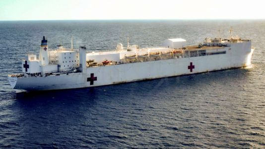 U.S. Navy Sends Hospital Ship To Colombia To Treat Venezuelan Migrants