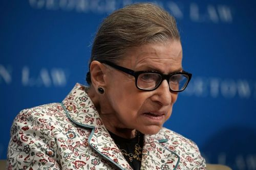 Supreme Court Justice Ruth Bader Ginsburg hospitalized after fracturing 3 ribs in fall