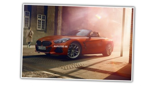 First BMW Z4 Official Photos Leaked On Belgian Website