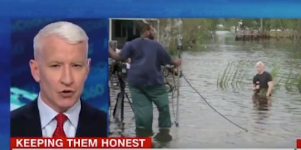 CNN's Anderson Cooper rips into Donald Trump Jr. for 'tweeting lies' about Hurricane Florence coverage