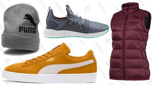 Take 40% Off Anything, or 25% Off Sale From PUMA