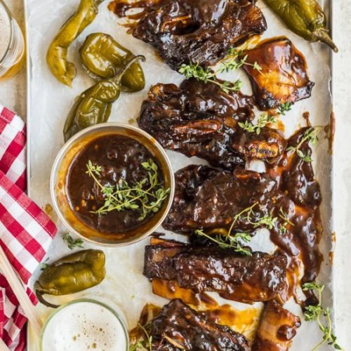 Chipotle and Beer Short Ribs