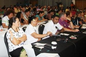 Two-day tourism forum at the Taumeasina Island Resort holds up 'smart tourism'