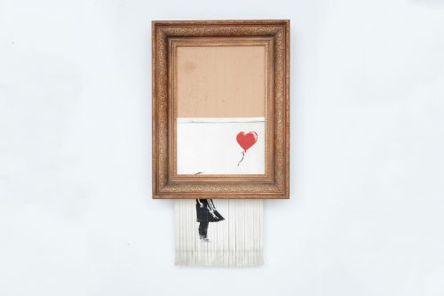 "Buyer of Banksy's Prank ""Love Is In The Bin"" is Keeping Artwork"