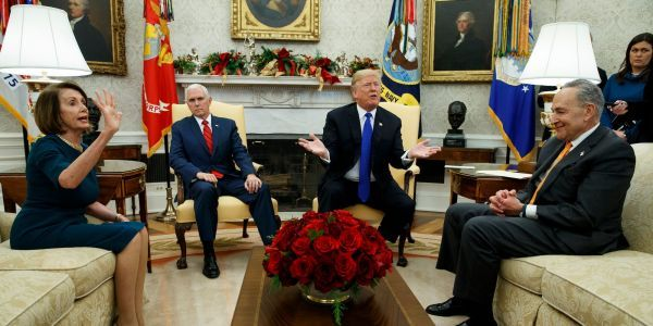Trump doubles down on taking blame for shutdown after Pelosi privately questions his manhood