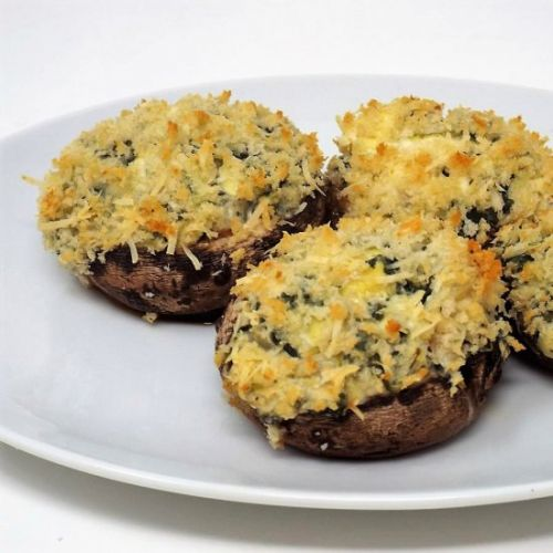 Spinach and Artichoke Stuffed Mushroom