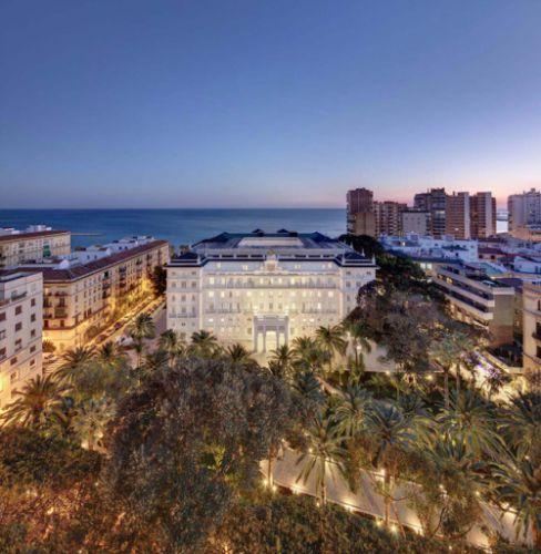 Gran Hotel MiramarLocated in the heart of Malaga, by the