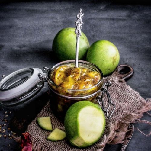 Raw Mango Sweet Pickle