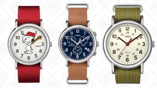 Take 20% Off Every Style of Timex Weekender, One of Our Readers' Favorite Watches