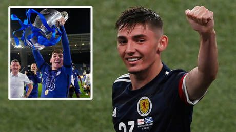 Scotland starlet Billy Gilmour tests positive for Covid in significant blow to Tartan Army's Euro 2020 hopes