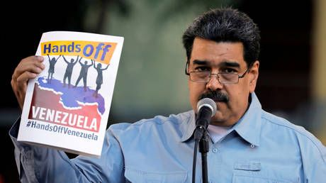 'We are defending our borders and freedom': Maduro amid humanitarian aid tensions