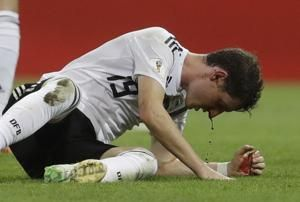 Rudy ruled out of Germany's final World Cup group match