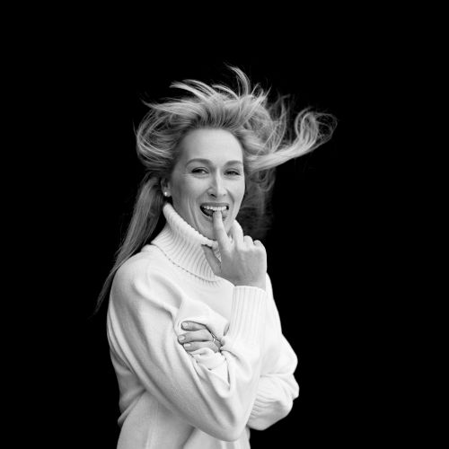 To the magnificent Meryl Streep: happy birthday.Photograph by