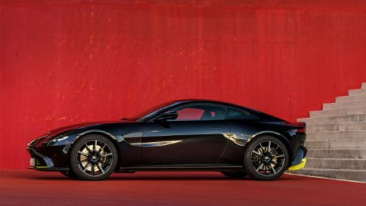 The Aston Martin Vantage Looks Nice As Hell In Black