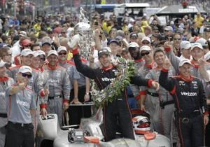 Will Power the latest Indianapolis 500 champion for Penske
