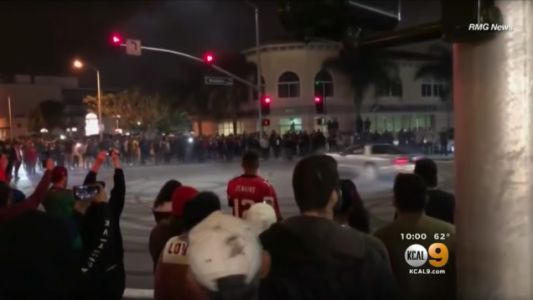 Dangerous 'Sideshows' In LA Draw Hundreds To Watch Cars Do Donuts