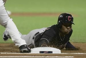 LaMarre's single lifts Twins over Indians 2-1 in 16 innings