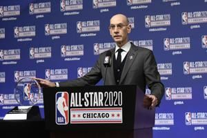 Silver: NBA may return to normal in '21-22, virus permitting