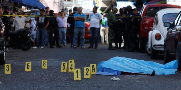 Mexico had its most homicides in decades in 2017 - and 2018 is off to a gruesome start