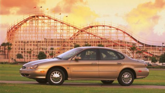 An Early Design For The Ugly 1996 Ford Taurus Looked A Lot Like A Tesla Model 3
