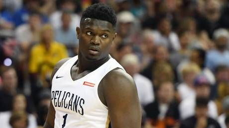 'Kingdom come': Budding NBA superstar Zion Williamson signs with Nike's Jordan Brand