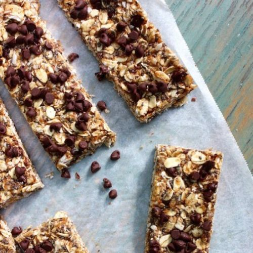 Chewy Chocolate Coconut Protein Bar
