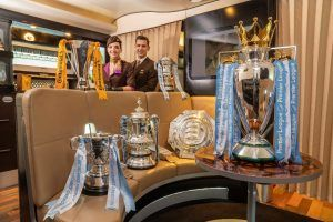 Etihad Airways Welcomes the Manchester City Football Club Trophy Tour
