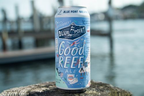 Blue Point Brewing Company Revitalizes NYC's Harbor With Its Good Reef Ale