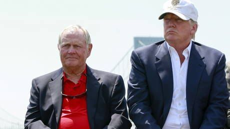 'Lost all respect': Bitter fans take swing at golf legend Jack Nicklaus for daring to reveal Trump vote