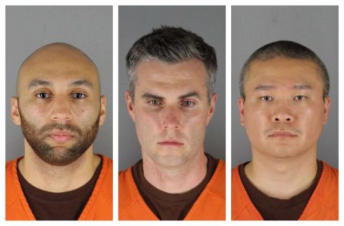 Judge: $750,000 bail for 3 ex-officers accused in George Floyd's death