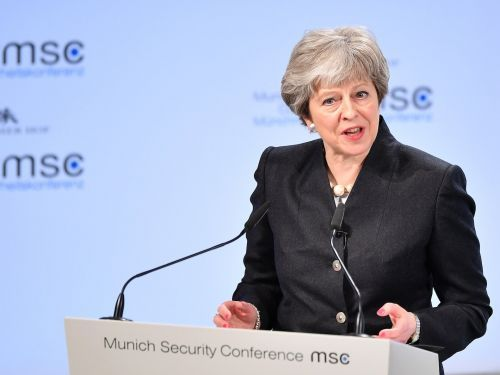 Theresa May claims 'Europe's security is our security' as she proposes a new UK-EU security treaty ahead of Brexit
