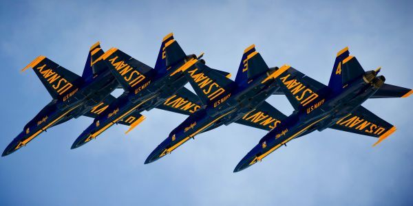 The Navy's Blue Angels are getting newer, bigger planes