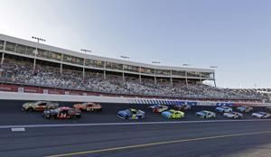 The Latest: Larson, Wallace, Bowman advance to All-Star Race