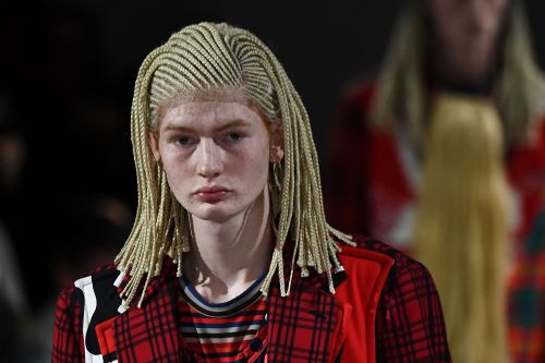 Fashion brand under fire for cultural appropriation with cornrow wigs