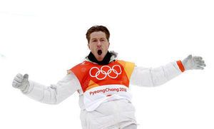 Third gold turns Shaun White from 'flying tomato' to best boarder ever