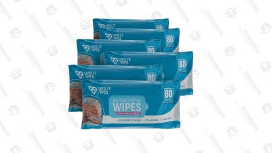 If You're Compulsive About Swabbing Everything Down This Pack of 480 Antibacterial Wipes for $20 Is for You
