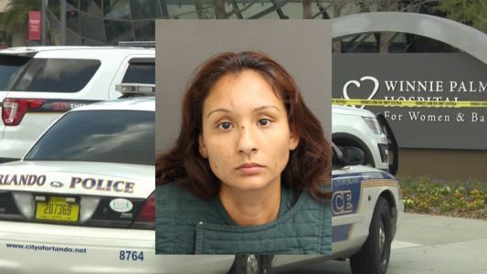 Mother charged with murder after pulling up to Orlando hospital with dead girl in car