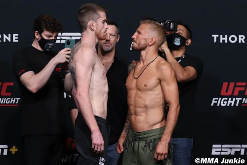 UFC on ESPN 27 play-by-play and live results
