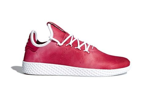 Pharrell x adidas Tennis Hu Gets Wrapped in a Bold Red Tone