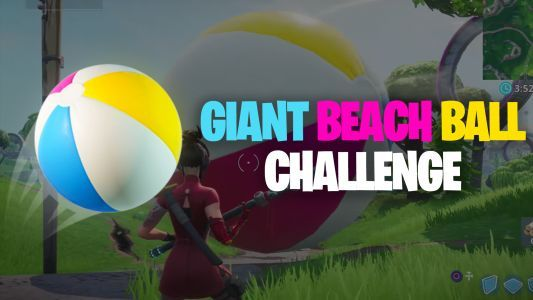 Where to find Giant Beach Ball for Fortnite's 14 Days of Summer challenge