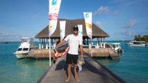 Josh Kerr Continues His Dominance at Four Seasons Maldives Surfing Champions Trophy