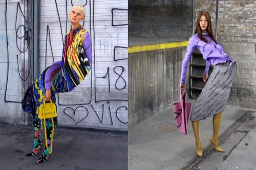 Balenciaga Launches Trippy Video Lookbooks to Promote SS19 Line