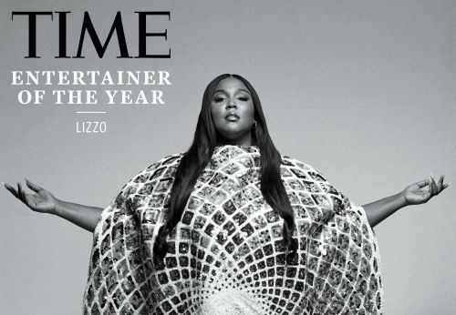 Lizzo wore a $37,000 cape backwards for a photo in Time after the magazine named her entertainer of the year