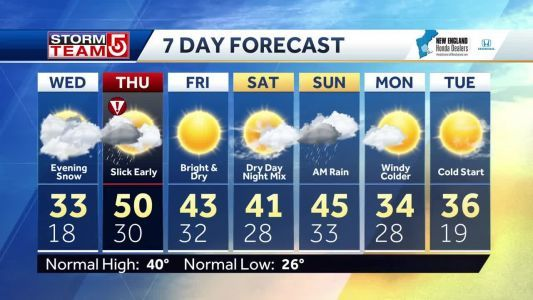 Video: Major winter storm moves in for Wednesday night