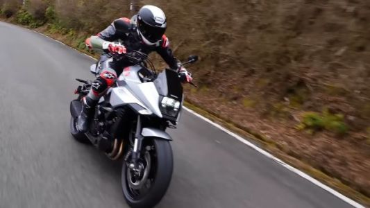 There is a New Suzuki Katana and it's Ready For Your Cyberpunk Dystopia Fantasies