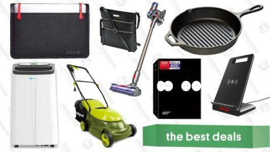 Friday's Best Deals: eBay Sitewide Sale, Laptop Sleeves, Electric Lawn Mower, and More