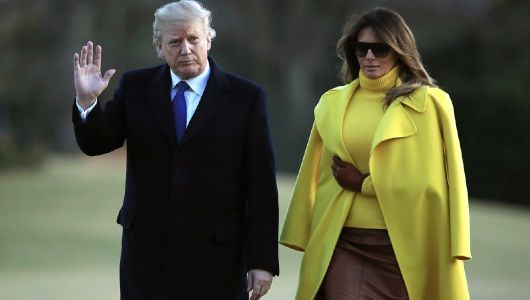 Like their anniversary, Trumps celebrate Valentine's Day quietly