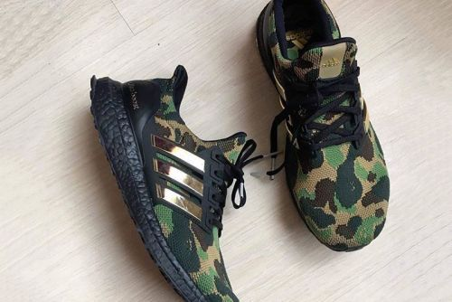 Images of Possible BAPE x adidas UltraBOOST Sample Emerge